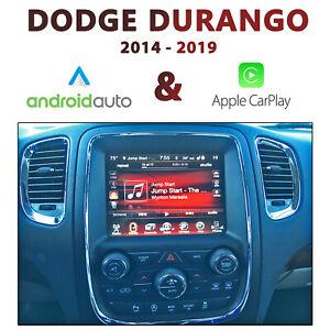 "Dodge Durango 2014-18 UConnect 8.4"" Appele CarPlay & Android Auto Integration"