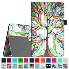 For Amazon Fire HD 8 inch Tablets Case Slim Fit Vegan Leather Standing Cover