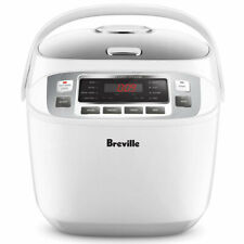 NEW Breville LRC480WHT the Smart Rice Box Rice Cooker