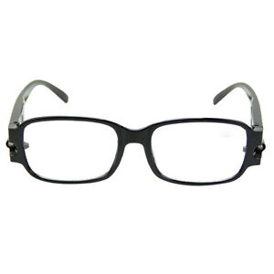 Multi Strength LED Reading Glasses Night Vision Eyeglass With Magnetic Therapy