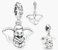 Pandora Genuine Pendant Charm Dangle DISNEY DUMBO Silver 797849CZ S925 ALE
