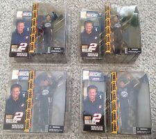 New listing Lot 4 Rusty Wallace Miller Lite McFarlane Series 1 Hobby Nextel Action Figure