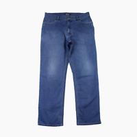 Rohan Mens Classic Fit UV Protect Washed Blue Cotton Denim Jeans Waist 36 Leg 31