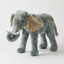 Jiggle & Giggle Animal Large Standing Elephant Kids Plush Toy
