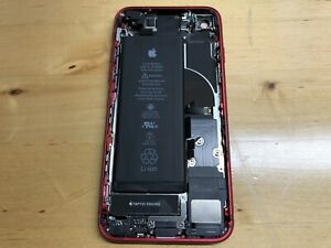 OEM Original Apple iPhone 8 Red Housing Frame with Small Parts (B Grade)