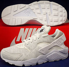 Womens Nike Air Huarache Run Prime Fleece iD White SZ 11 / Mens 9.5 (777331-993)