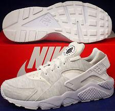 Womens Nike Air Huarache Run Prime Fleece iD White SZ 11 / Mens 9.5 (777331-993)