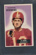 1955 Bowman #077 Al Dorow Redskins EX *1175