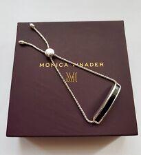 New Monica Vinader Bracelet Baja Sterling Silver Black Onyx Bracelet