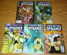 New Dynamix #1-5 VF/NM complete series AFROCENTRIC SUPER HERO kirby art