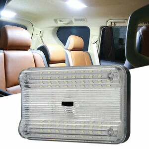 White 36 LED Car Interior Light Dome Roof Ceiling Reading Trunk Lamp Universal
