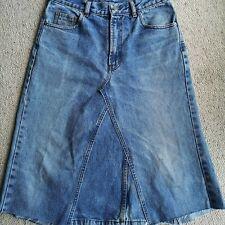 "Levis 501 jeans Denim skirt size 12 31"" waist"