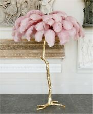 Modern Style Ostrich Feather Floor Lamp | Luxury Home Décor | DISCOUNTED PRICE!