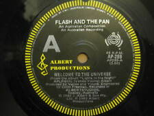"FLASH & THE PAN Welcome To The Universe RARE AUSSIE 7"" SINGLE 1980 - AP-289"