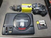 SEGA Genesis 1 Black home Console MK-1601