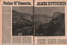Discovery of Hetch Hetchy Valley & Father of Yosemite+Ayers,Clark,Fink,Greely