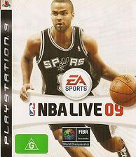 PLAYSTATION 3 NBA LIVE 09 PS3 GAME