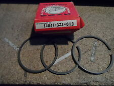 HONDA GENUINE CB125 SL125 TL125 PISTON RINGS 0.75 O/S 13041-324-013   NOS