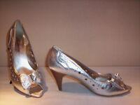 Scarpe decoltè decolletè eleganti Federica donna shoes spuntate tacchi pelle 37