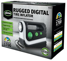 Slime RUGGED DIGITAL TIRE INFLATOR / COMPRESSOR • LED LIGHT • POWERFUL COMPACT