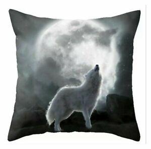Cushion Wolf Moon White
