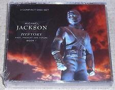 MICHAEL JACKSON History Past, Present & Future 2CD SOUTH AFRICA Cat#CDEPC5000