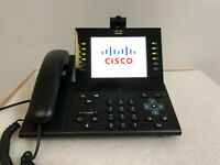 CISCO CP-9971-C-CAM-K9 VoIP IP Phone Color Touchscreen USB Camera Wifi CP-9971