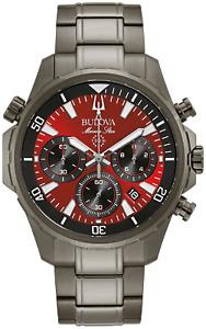 Bulova Marine Star Men's Water-Resistant 100M Watch