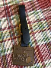 Vintage Allis Chalmers Watch Fob West Virginia Tractor & Equipment Co