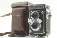 [Optical Near MINT in Case] YASHICA-D Yashikor 80mm f/3.5 TLR Film Camera JAPAN