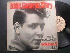 EDDIE COCHRAN DON'T FORGET ME VOLUME 5 UNITED ARTISTS 29167 ROCKABILLY
