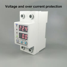 63A adjustable voltage and over current protection relays with voltmeter ammeter