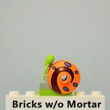New Genuine LEGO Orange Snail Gary Animal SpongeBob 3827