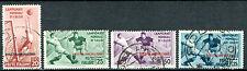 Ägäische Inseln 1934 Fußballweltmeisterschaft Sassone 75-78 gestempelt