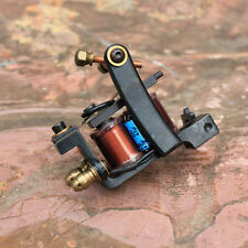 handmade cast iron tattoo machine tattoo gun set shader 10 wrap coil