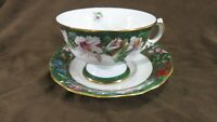 Bradford Exchange Humming Bird Garden China Cup and Saucer