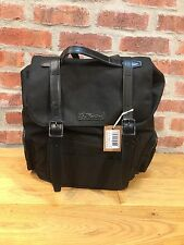 DR. MARTENS BIG BLACK EXTRA TOUGHT NYLON +SMOOTH SLOUCH  BACKPACK