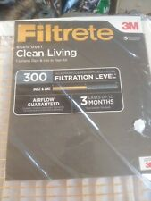 Filtrete 3m Clean Living 300 Filtration Level 14×20×1. It brings six filters