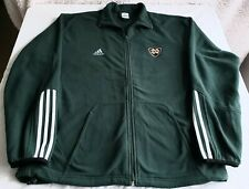 "Brand new vintage adidas brand, Notre Dame ""ND"" full zip fleece jacket in size M"