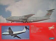 Herpa Wings 1 500 Lockheed C-5m Galaxy EE.UU Air Force 533058