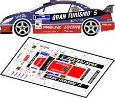 DECALS 1/43 PEUGEOT 307 WRC  #1 KUCHAR - RALLYE RAJD BARBORKA 2010 - MFZ D43037