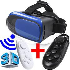 VR Occhiali 3D per REALTA' Virtuale VISORE con GAMEPAD Telecomando SMARTPHONES