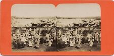 Afrique du Nord Maghreb Photo Stereo Vintage albumine ca 1870