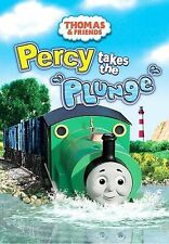 Thomas & Friends Percy Takes the Plunge Dvd 2009-Box & Dvd Only! Tested-plays gd
