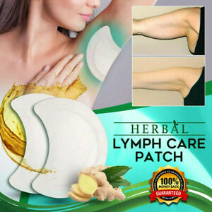 5Pcs LYMPH CARE PATCH HERBAL LYMPHATIC UNDERARM NECK WAIST THIGH ANTI-SWELLING