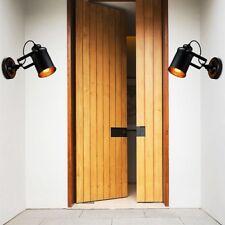 Retro Wandleuchte Vintage Vintage Loft rustikale Wandleuchten Veranda Lampe D5E4