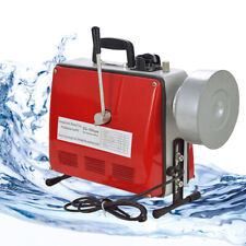 500w Drain Cleaner Sectional Pipe Cleaning Machine Electric Snake Sewer 34 6