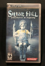 Silent Hill: Shattered Memories CASE AND MANUAL ONLY NO GAME (Sony PSP, 2009)