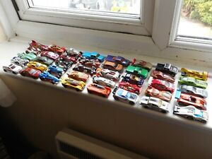 Hot Wheels job lot x40 play worn toy cars, muscle cars, fantasy cars etc