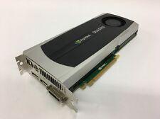 NVidia Quadro 6000 Graphics Card 6GB PCIE GDDR5 384-Bit VIDEO CARD